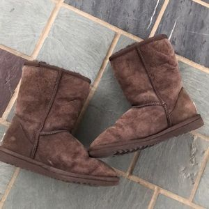 Ugg Classic short boots Suede women's 6